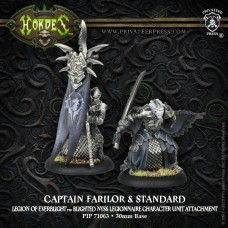 Legion Captain Farilor & Standard Blighted Nyss Legionnaire