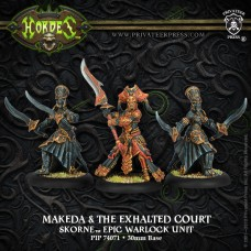 Skorne Epic Makeda & Exalted Court