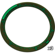 Hordes Area of Effect 4 inch Ring Markers