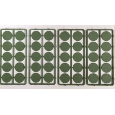 25mm Round Bases (50)