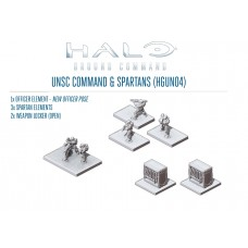 UNSC Command & Spartans Pack