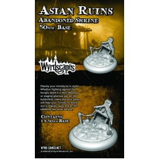 Wyrdscapes Asian Ruins 50mm Abandoned Shrine