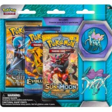 Pokémon TCG: Collector's Pin 3-Pack Blister Suicune